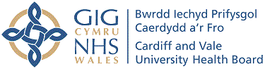Cardiff and Vale University Health Board logo